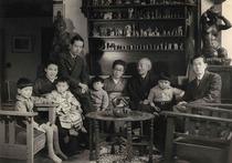 吉田博とその家族