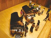 風のホール:ピアノなどの紹介