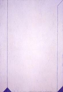 高松次郎《平面上の空間(2)》