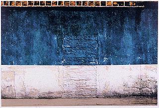 吉田穂高《緑の壁》