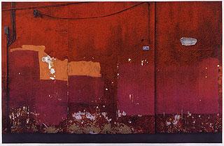 吉田穂高《赤の壁》