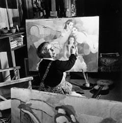 1953年70歳頃のマリー・ローランサン