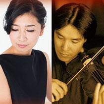 戸田 薫(ヴァイオリン) 天野寿彦(ヴィオラ)