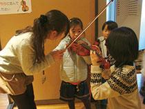 みたかジュニア・オーケストラ(MJO)による弦楽器体験コーナー