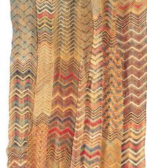 ターバン(部分) ラジャスタン州、ジャイプール 19世紀後期 巻き絞り染め ラハリア、モトゥラ 木綿モスリン 1575×15cm