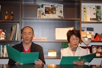 御手洗徹さん、飯塚ヒロ子さんによる朗読