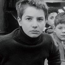 映画「大人は判ってくれない」より、主人公アントワーヌ・ドワネルを演じたジャン=ピエール・レオー