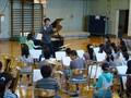 沼尻竜典さんによる小学校訪問授業