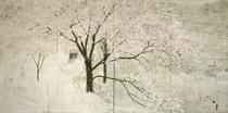 「何気な春」 2015年 190.0×380.0cm 雲肌麻紙・岩絵具