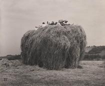 《歸路》 1956年 ゼラチン・シルバー・プリント 45.5×55.7 cm 個人蔵